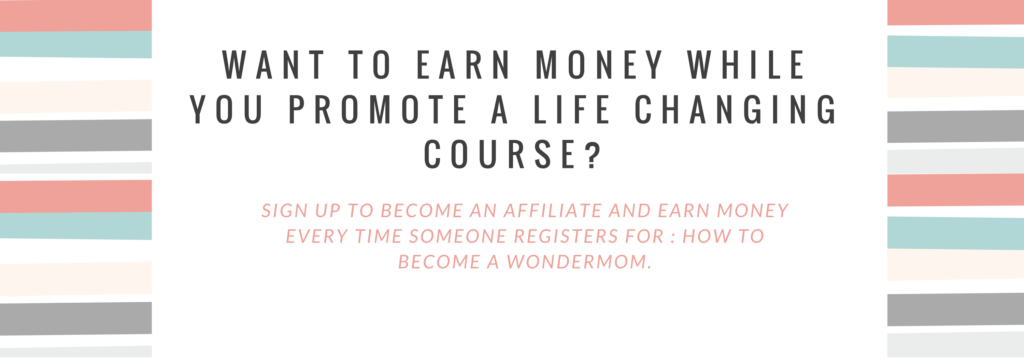 Want to Earn Money while you promote a life changing course_